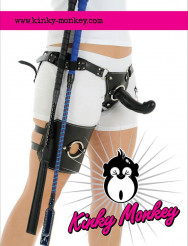 Kinky Monkey - Harnesses Every Which Way!