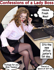 Confessions of a Lady Boss ~ Femdom Comic Strip